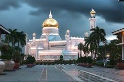 Sultan Omar Ali Saifuddin Mosque Lizenzfreies Stockfoto