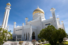 Sultan Omar Ali Saifuddin Mosque - Bandar Seri Begawan - le Brunei images stock