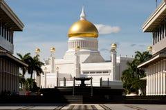 Sultan Omar Ali Saifuddin Mosque - Bandar Seri Begawan - le Brunei photographie stock
