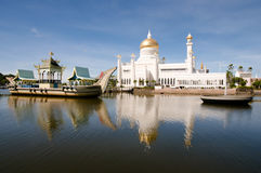 Sultan Omar Ali Saifuddin Mosque - Bandar Seri Begawan - le Brunei photo stock