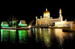 Sultan Omar Ali Saifuddin Mosque - Brunei Royalty Free Stock Photo