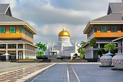 Sultan Omar Ali Saifuddin Mosque en Bandar Seri Begawan Brunei photo libre de droits