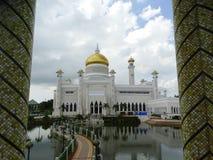 Sultan Omar Ali Saifudding Mosque, Bandar Seri Begawan, Brunei photo libre de droits