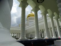Sultan Omar Ali Saifudding Mosque, Bandar Seri Begawan, Brunei photographie stock