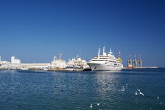 Sultan Qaboos de port Photographie stock