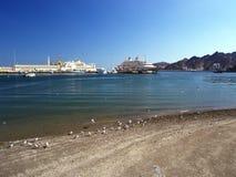 Sultan Qaboos de port Images stock
