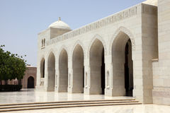 Sultan Qaboos Grand Mosque Stock Photos
