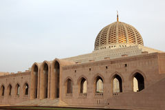Sultan Qaboos Grand Mosque Stock Image