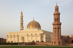 Sultan Qaboos Grand Mosque Stock Images