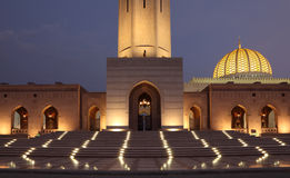 Sultan Qaboos Grand Mosque Royalty Free Stock Image