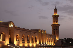 Sultan Qaboos Grand Mosque Royalty Free Stock Photography