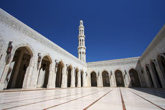 Sultan Qaboos Grand Mosque Royalty Free Stock Images
