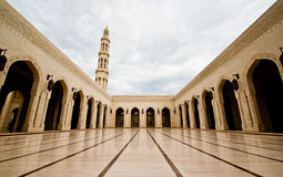 Sultan Qaboos Grand Mosque Arkivbilder
