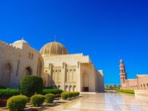Sultan Qaboos Grand Mosque Photos stock