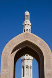 Sultan Qaboos Grand Mosque Stock Photography