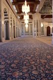Sultan Qaboos Grand Mosque carpet Stock Photo