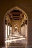 Sultan Qaboos Grand Mosque en Muscat, Omán Foto de archivo