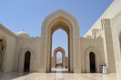 Sultan Qaboos Grand Mosque, Muscat Photo libre de droits