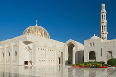 Sultan Qaboos Grand Mosque - Muscat Stockbild
