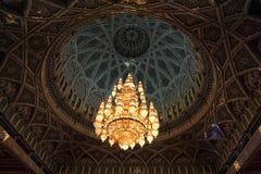 Sultan Qaboos Grand Mosque, Muscat (Oman) Photos stock