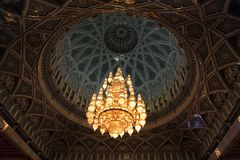 Sultan Qaboos Grand Mosque, Muscat (Oman) stock photos