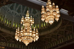 Sultan Qaboos Grand Mosque, Muscat, Oman Royalty Free Stock Photography