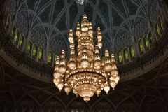Sultan Qaboos Grand Mosque, Muscat, Oman Stock Images