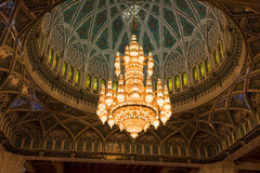 Sultan Qaboos Grand Mosque, Muscat Stock Photos