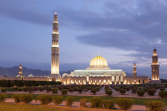 Sultan Qaboos Grand Mosque in Muscat, Oman Stock Images