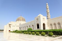 Sultan Qaboos Grand Mosque, Muscat (Oman) Stock Images
