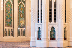 Sultan Qaboos Grand Mosque, Muscateldruif Stock Fotografie