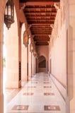 Sultan Qaboos Grand Mosque, Muscateldruif, Oman Royalty-vrije Stock Foto's
