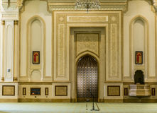 Sultan Qaboos Grand Mosque Salalah Dhofar Region of Oman. 7 Stock Image