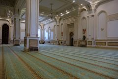 Sultan Qaboos Grand Mosque in Salalah, Dhofar Region of Oman. Royalty Free Stock Photo