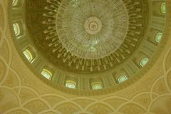 Sultan Qaboos Grand Mosque in Salalah, Dhofar Region of Oman. Stock Photo