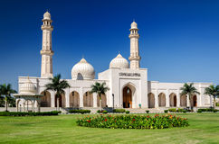 Sultan Qaboos Grand Mosque in Salalah. The largest mosque in the southern part of Sultanate Oman Stock Photography