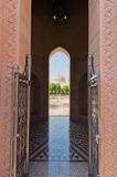 Sultan Qaboos Mosque Stock Photo