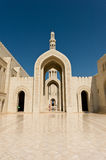 Sultan Qaboos Mosque Royalty Free Stock Photography