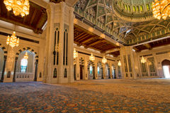 Sultan Qaboos Mosque Stock Images