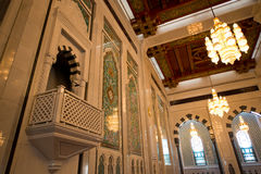 Sultan Qaboos Mosque Stock Photography