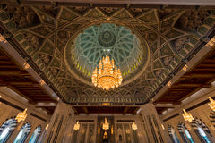 Sultan Qaboos Mosque Royalty Free Stock Image