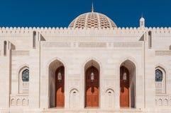 Sultan Qaboos Mosque, Muscat, Oman Lizenzfreies Stockfoto