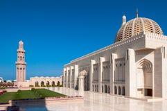Sultan Qaboos Mosque, Muscat, Oman Lizenzfreie Stockfotos