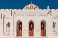 Sultan Qaboos Mosque, Muscat, Oman Royalty Free Stock Photo