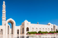 Sultan Qaboos Mosque, Muscat,Oman Royalty Free Stock Images