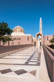 Sultan Qaboos Mosque, Muscateldruif, Oman Stock Foto's