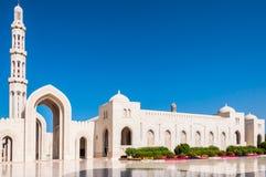 Sultan Qaboos Mosque, Muscateldruif, Oman Royalty-vrije Stock Afbeeldingen