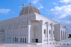 Sultan Qaboos Mosque Oman Stock Photo