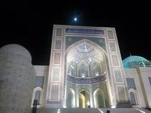 Sultan Qaboos Mosque Sohar Arkivbild