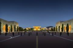 Sultan Qaboos Palace fotografie stock libere da diritti